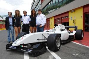 A1GP New 'Powered by Ferrari' Car Mugello Launch 2008/09
