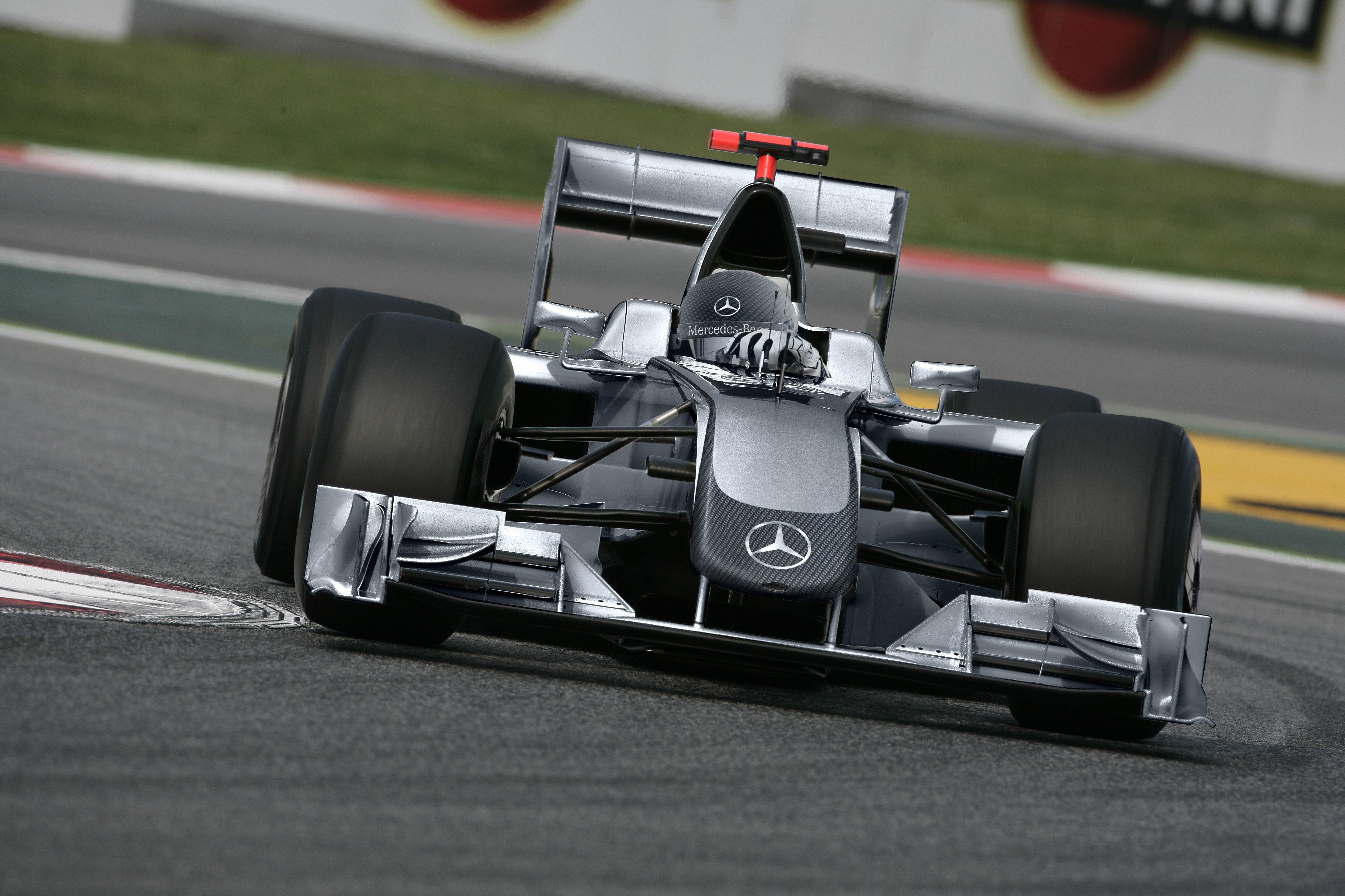 Mercedes GP PETRONAS 2010 Concept Livery.