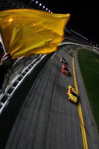 2010 Daytona 500 Caution GWC Restart