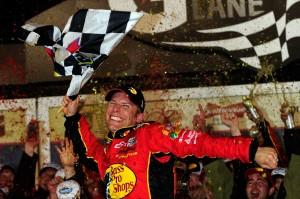 2010 Daytona 500 Jamie McMurray in Victory Lane
