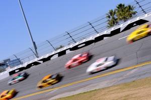 2010 Daytona 500 Kevin Harvick Dale Earnhardt Jr lead pack