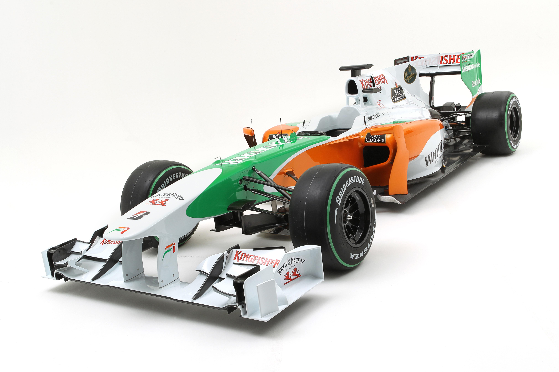 Презентовала болид VJM03, который будет выходить на трассы Формулы-1 в