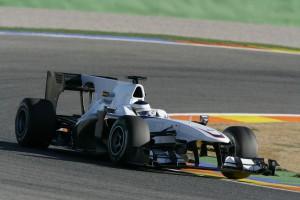 BMW Sauber Valencia-Test