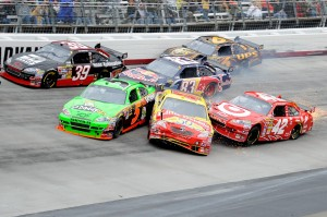 2010 Bristol Mar NSCS 13 car accident