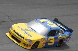 2010 Daytona June NNS practice 3 car on track