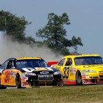 2010_Watkins_Glen_Aug_NSCS_race_Jeff_Burton_Clint_Bowyer
