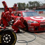 2010_Watkins_Glen_Aug_NSCS_race_Juan_Pablo_Montoya_pit_stop