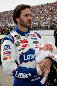2010_NHMS_Sept_NSCS_race_Jimmie_Johnson_Genevieve_Marie_Johnson