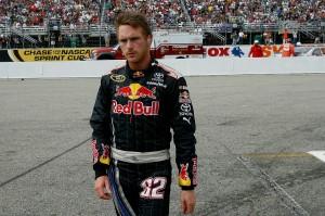 2010_NHMS_Sept_NSCS_race_Scott_Speed_walks_from_car