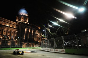 F1 Singapore Grand Prix - Practice