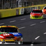 2010_Charlotte_Oct_NSCS_Kyle_Busch_leads
