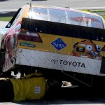 2010_Kansas_Oct_NSCS_Kyle_Busch_car_on_pit_road