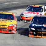2010_Martinsville_Oct_NSCS_Denny_Hamlin_Kevin_Harvick_side_by_side
