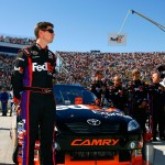 2010_Martinsville_Oct_NSCS_Denny_Hamlin_stands_by_car