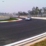 Course car through T14