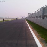 From Turn 3 to turn 4 - support race pits on the right