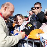 2010_Texas2_Nov_NSCS_prerace_Dick_Vitale_with_fans