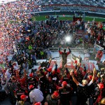 2011_Daytona_Feb_Trevor_Bayne_climb_out_high_angle