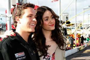 2011_Phoenix_Feb_Emmy_Rossum_poses_with_Trevor_Bayne
