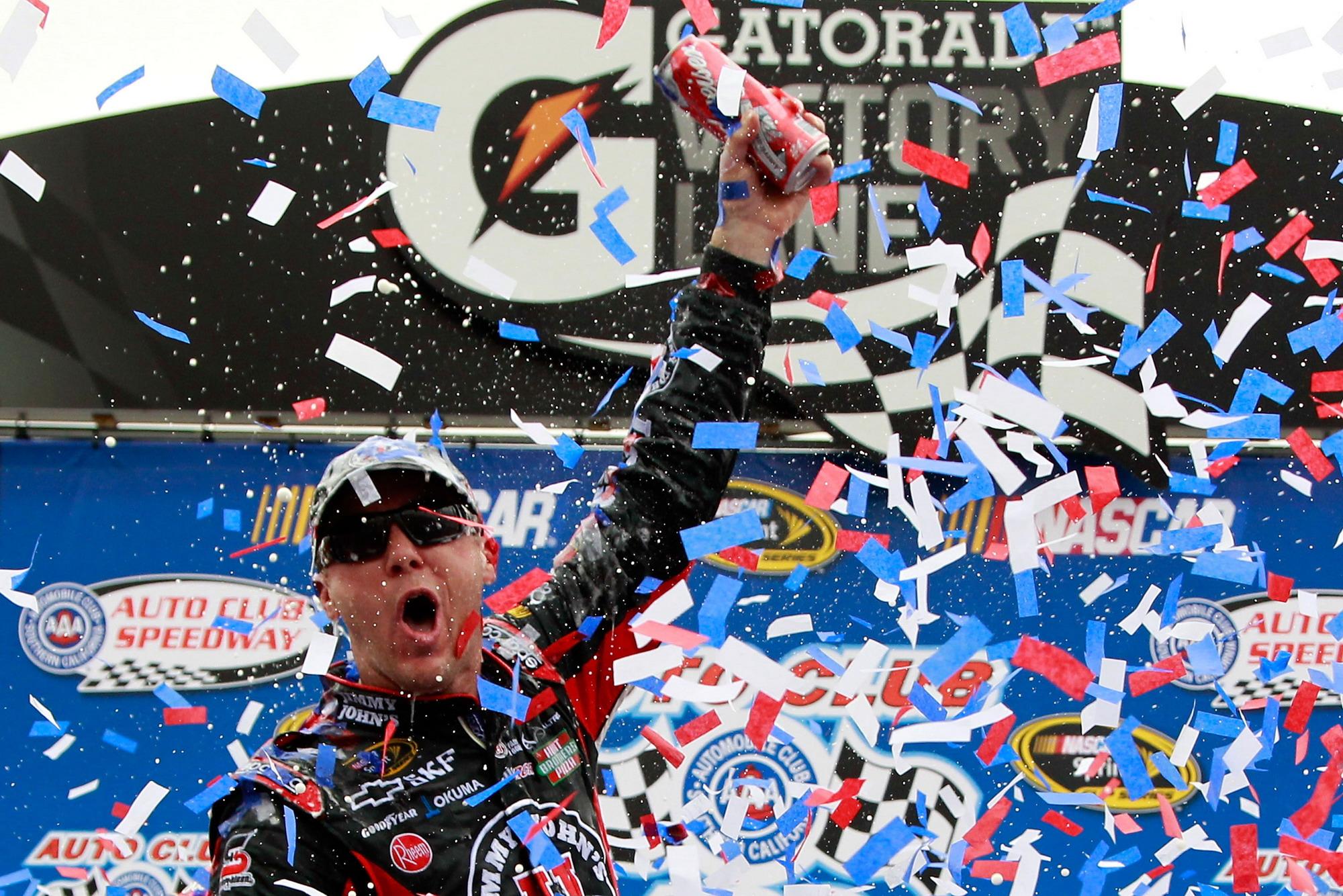 NASCAR: Analyse Fontana 2011