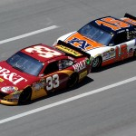 2011TalladegaApr_NSCS_Race_Clint_Bowyer_and_Michael_Waltrip