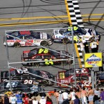 2011TalladegaApr_NSCS_Race_Four_wide_finish_Jimmie_Johnson_wins