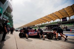 Malaysian F1 Grand Prix - Practice
