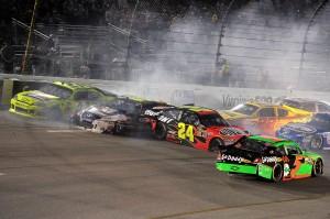 2011_Richmond_Apr_NSCS_Jeff_Gordon_accident