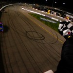 2011_Richmond_Apr_NSCS_Kyle_Busch_crosses_finish_line