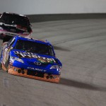 2011_Richmond_Apr_NSCS_Kyle_Busch_leads_Denny_Hamlin