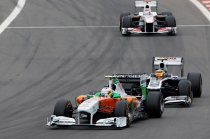 Formula One World Championship, Rd 10, German Grand Prix, Race, Nurburgring, Germany, Sunday 24 July 2011.