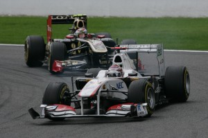 Formel Eins: Analyse Spa 2011