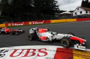 Formula One World Championship, Rd 12, Belgian Grand Prix, Race, Spa-Francorchamps, Belgium, Sunday 28 August 2011.