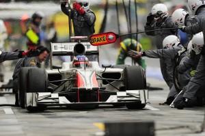 Formula One World Championship, Rd 11, Hungarian Grand Prix, Race, Budapest, Hungary, Sunday 31 July 2011..