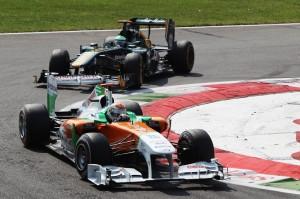 Formula One World Championship, Rd 13, Italian Grand Prix, Race, Monza, Italy, Sunday 11 September 2011.