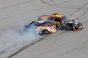 2011_Talladega_Oct_NSCS_Montoya_Kyle_Busch_crash_