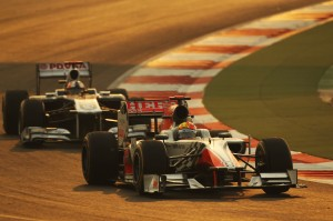 Formula One World Championship, Rd 17, Indian Grand Prix, Buddh International Circuit, Greater Noida, New Delhi, India, Race, Sunday 30 October 2011.