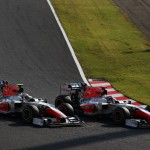 Formula One World Championship, Rd 15, Japanese Grand Prix, Race, Suzuka, Japan, Sunday 9 October 2011.