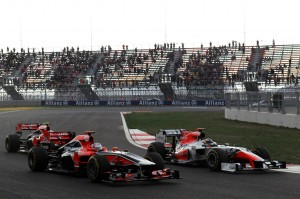 Formula One World Championship, Rd 16, Korean Grand Prix, Race, Korea International Circuit, Yeongam, South Korea, Sunday 16 October 2011.