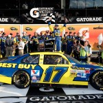 2012 Daytona Feb NSCS Duel 2 Matt Kenseth Victory Lane