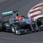 Motorsports: FIA Formula One World Championship 2012, Tests in Barcelona