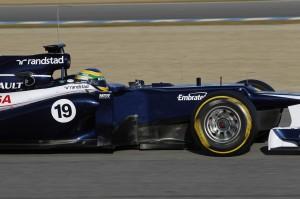 2012 Formula One Jerez Test Day Three