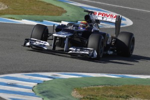 Formel Eins: Bilder Williams FW34
