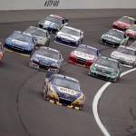 2012_Kansas_April_NASCAR_Sprint_Cup_Race_Martin_Truex_Jr_Leads