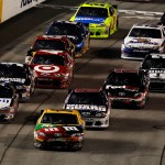 2012_Richmond_April_NASCAR_Sprint_Cup_Kyle_Busch_Restart