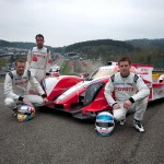 Audi and Toyota Hybrids at Spa-Francorchamps.