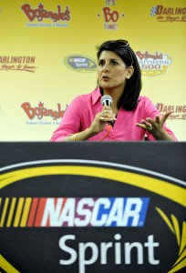 2012_Darlington_May_NASCAR_Sprint_Cup_Race_South_Carolina_Governor_Nikki_Haley