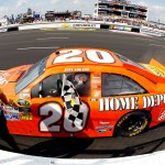 2012_Pocono_June_NASCAR_Sprint_Cup_Series_Race_Joey_Logano_Checkered_Flag