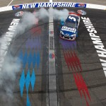 2012 New Hampshire July NASCAR Sprint Cup Kasey Kahne burnout