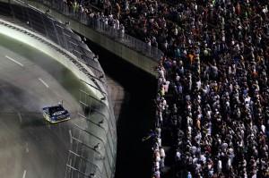 2012_Kentucky_June_NASCAR_Sprint_Cup_Series_Race_Brad_Keselowski_Salutes_Fans